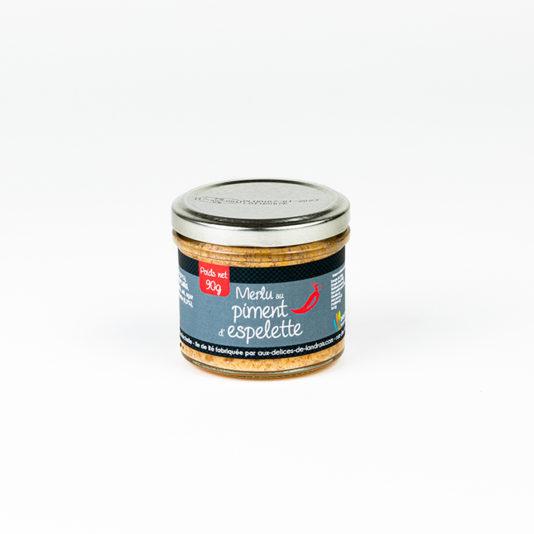 Merlu au piment d'Espelette