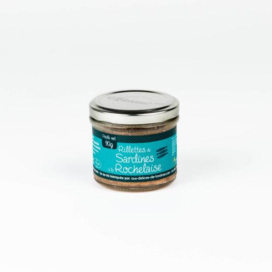 Rillettes de sardines à la Rochelaise